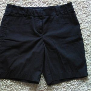 TALBOTS black shorts sz 4